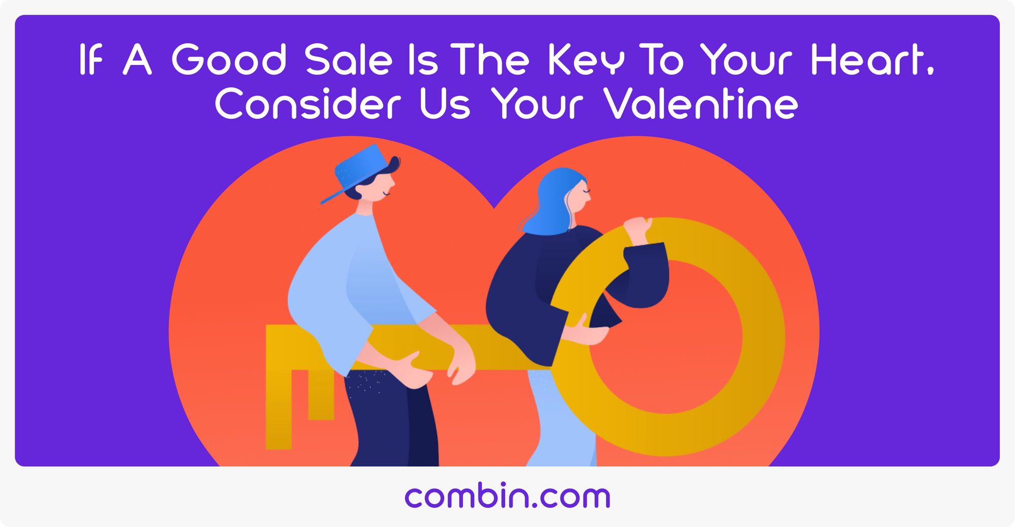 Get 50% Off Combin Growth Licenses For St. Valentine's Day